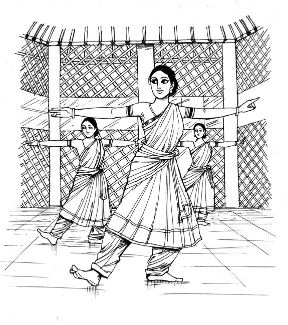 On Bharatanatyam